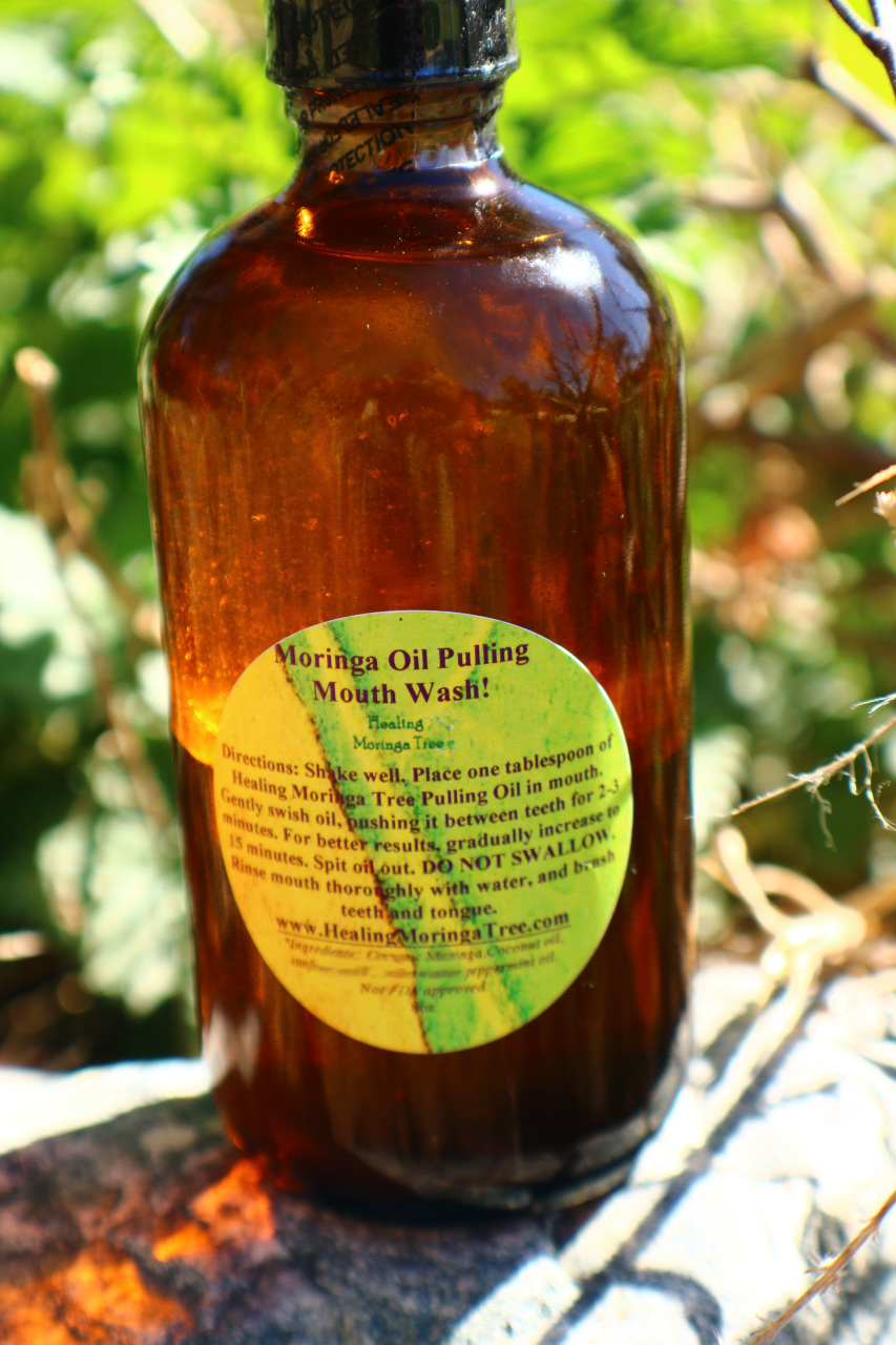 Moringa Mouth Wash Herbal Oral Care Moringa Trees For